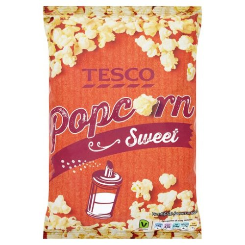 Tesco Sweet Popcorn 110G