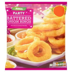 ASDA Party Battered Onion Rings