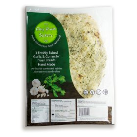Vegan Naan Bread in UK Supermarket