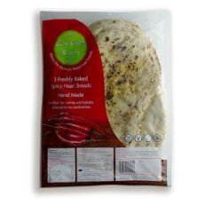 The Clay Oven Bakery Ltd 3 Spicy Naan Breads