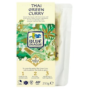 Blue Dragon Thai green curry 3 steps 253g