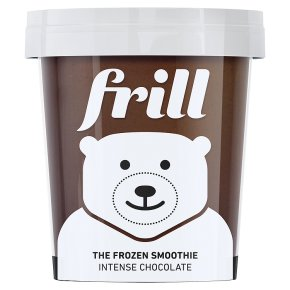Frill the frozen smoothie intense chocolate 475ml