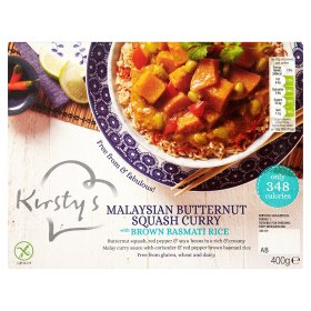 Kirstys Malaysian Butternut Squash Curry with Brown Basmati Rice