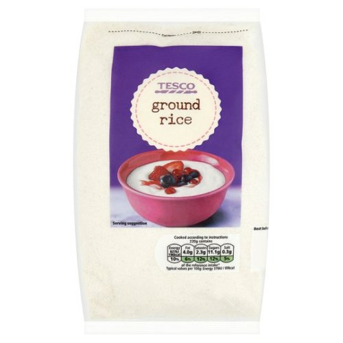 Tesco Ground Rice 500G