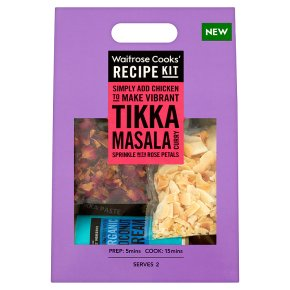 Waitrose Cooks' Recipe kit tikka masala