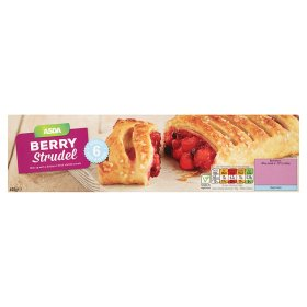 ASDA Forest Fruit Strudel