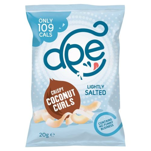 Ape Lightly Salted Coconut Curls 20g
