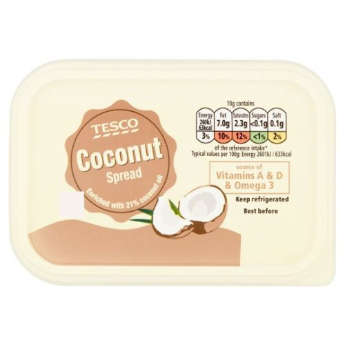 Tesco Coconut Spread 250G