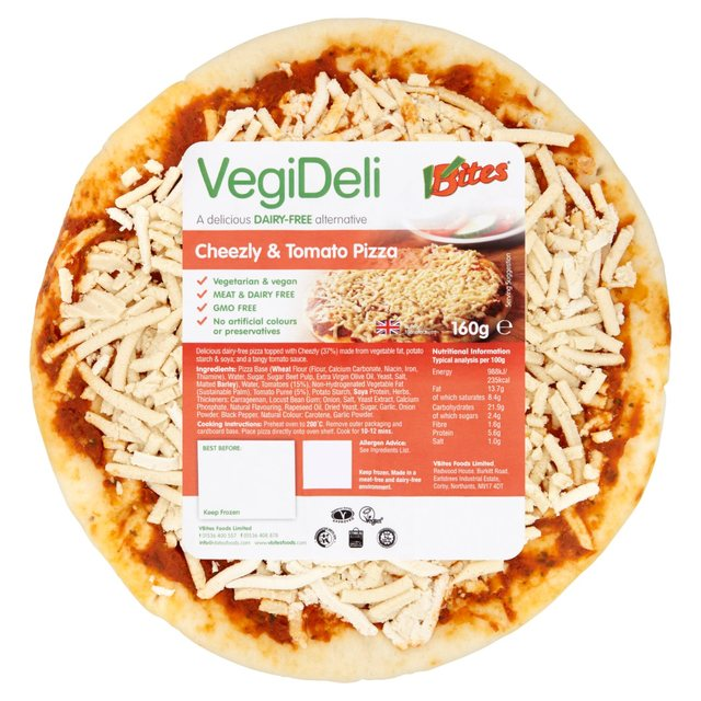 cheezly and tomato pizza