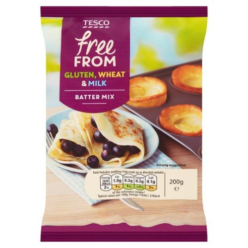Tesco Free From Batter Mix 200G