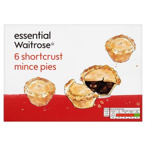essential-waitrose-6-shortcrust-mince-pies-285g