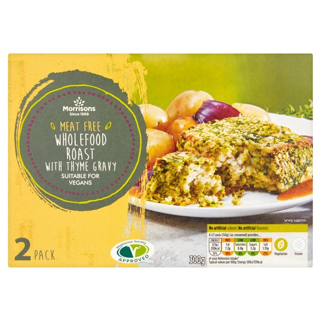 Morrisons meat free wholefood roast with thyme gravy 300g my vegan morrisons meat free wholefood roast with thyme gravy 300g forumfinder Gallery