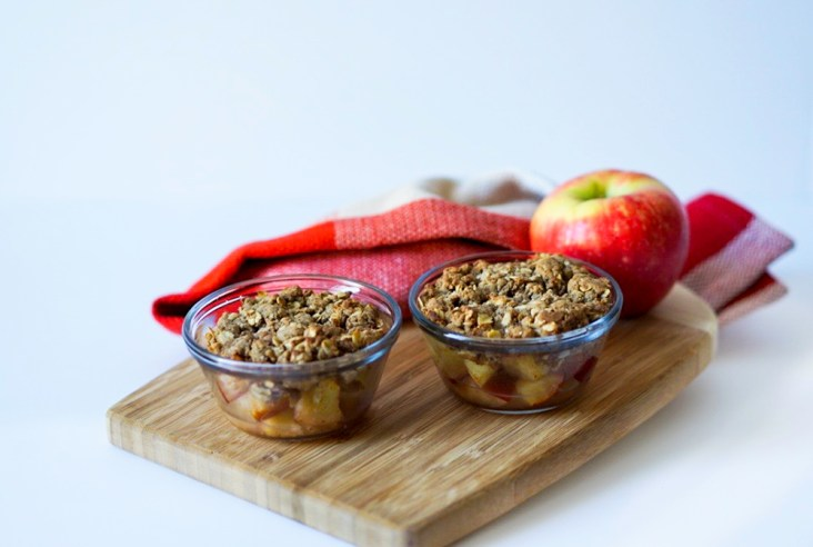 Apple Crisp Healthy Easy No Butter GF