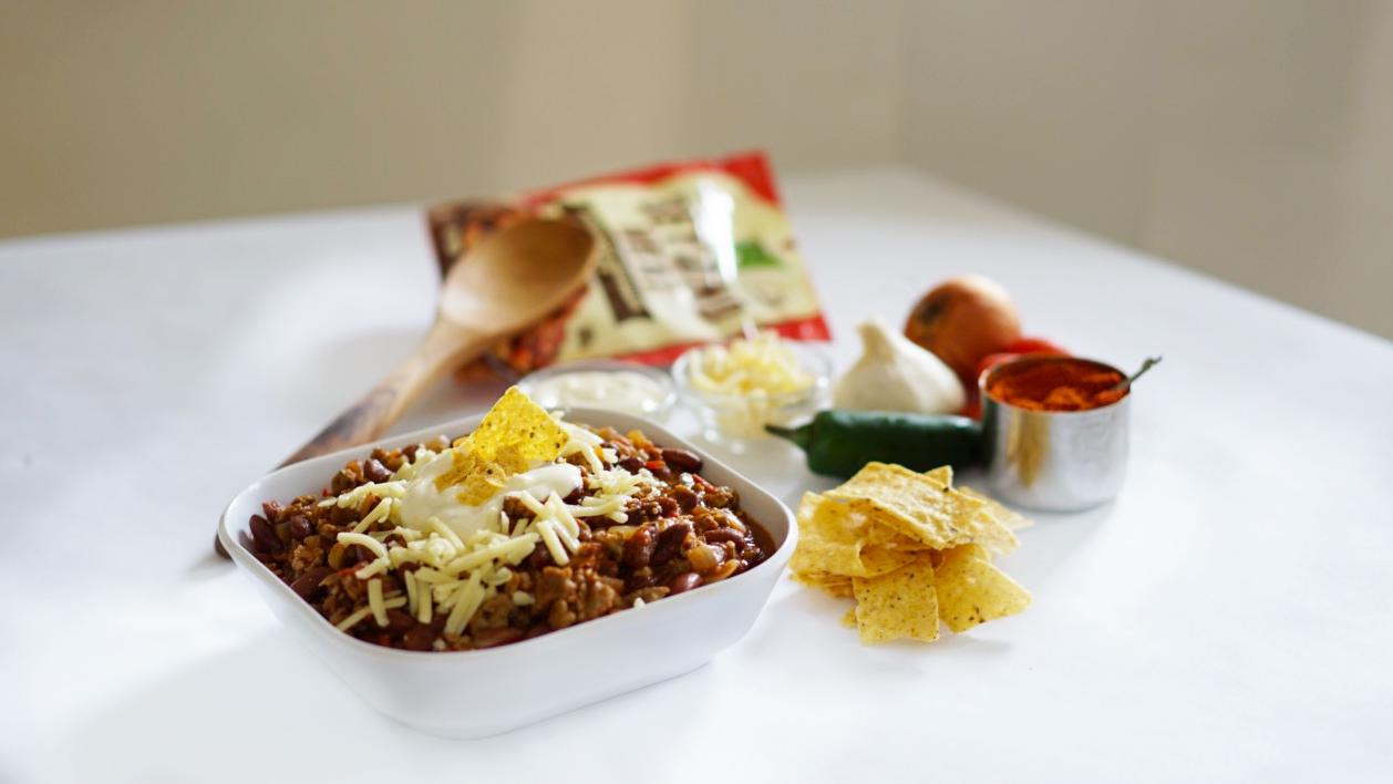 veggie chili beyond meat