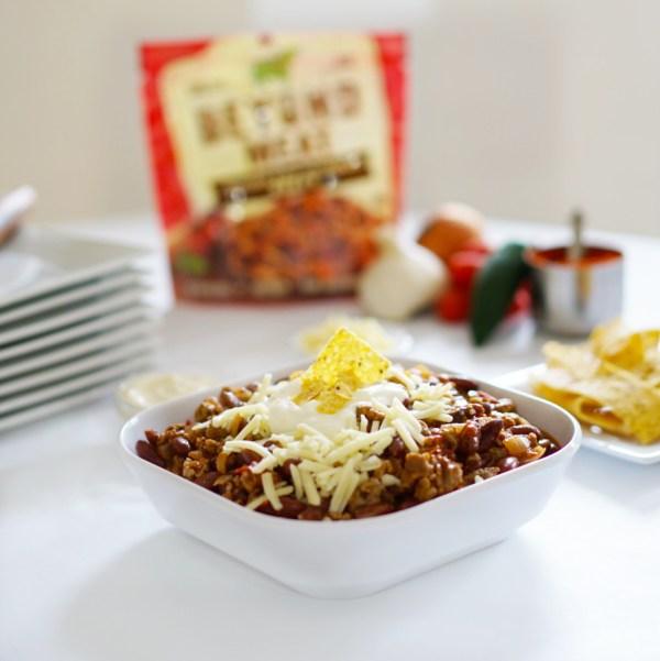 meatless monday veggie chili beyond meat