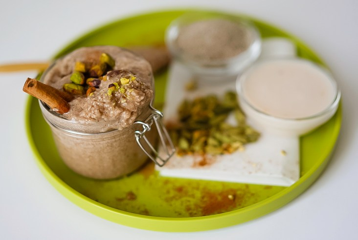 Chai Chia Pistachio Pudding Vegan Gluten Free
