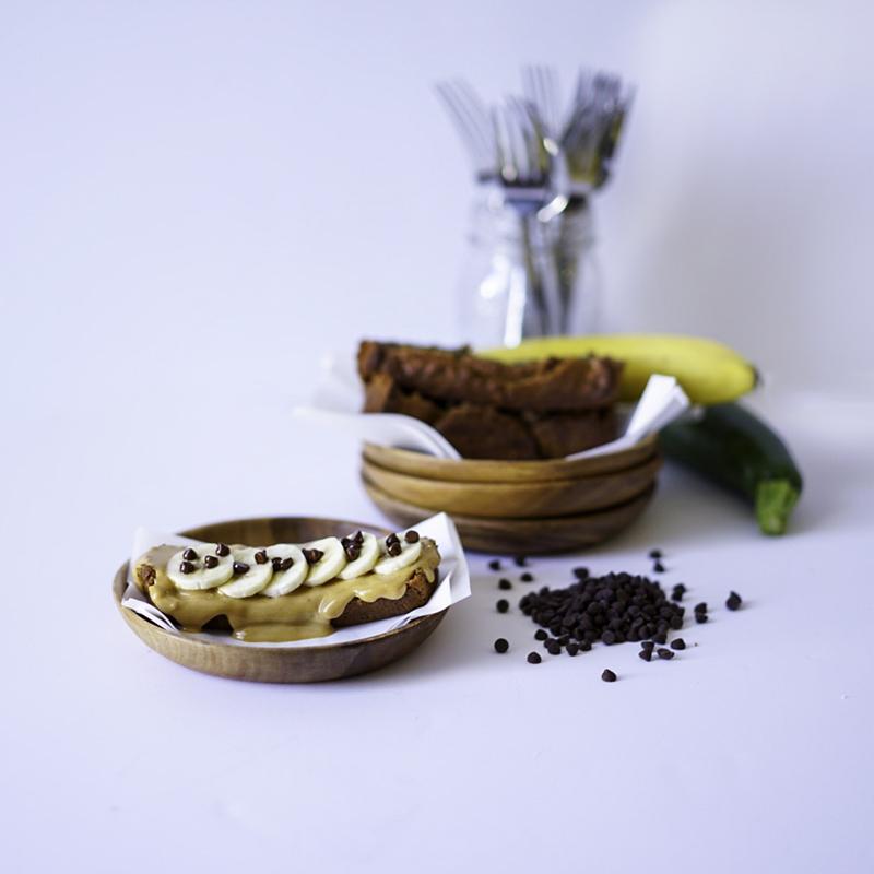 Eggless Zucchini Bread Vegan Healthy Easy