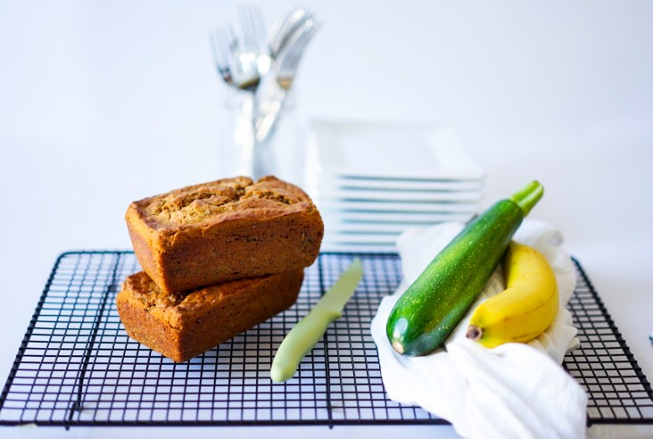 No Egg Zucchini Bread With Banana Vegan