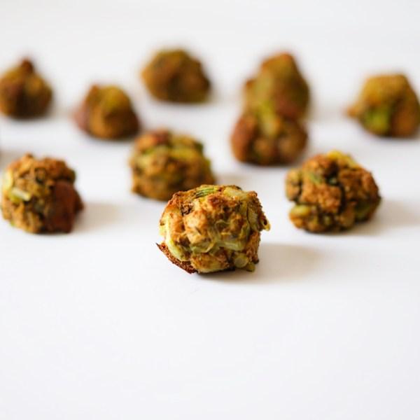 Vegan Thanksgiving Stuffing Balls