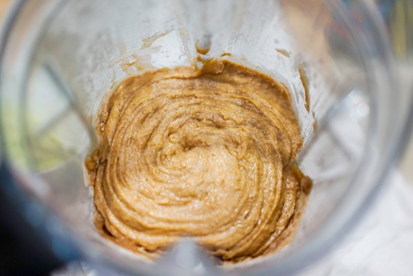 Zucchin Bread No Eggs Mix in Vitamix