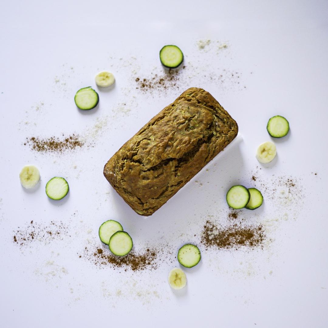 Zucchini Bread No Eggs Vegan Easy Healthy