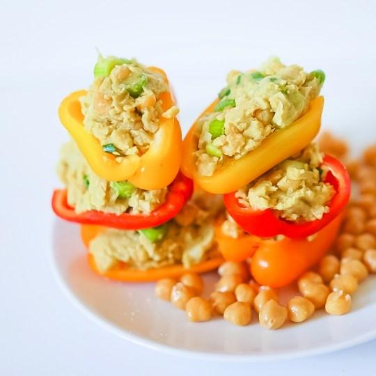 Chickpea No Tuna Salad #vegan #glutenfree