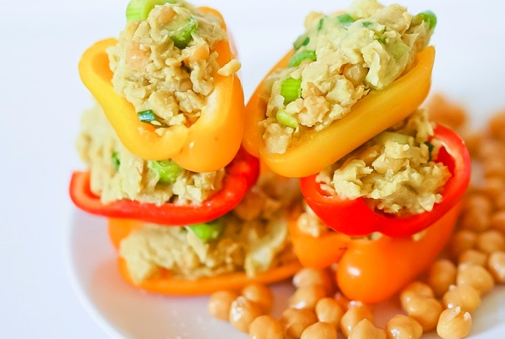 Chickpea No Tuna Salad #vegan #glutenfree