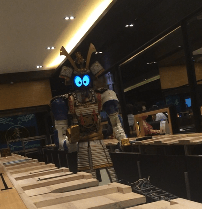 robot in Thailand