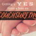 couchsurfer guide