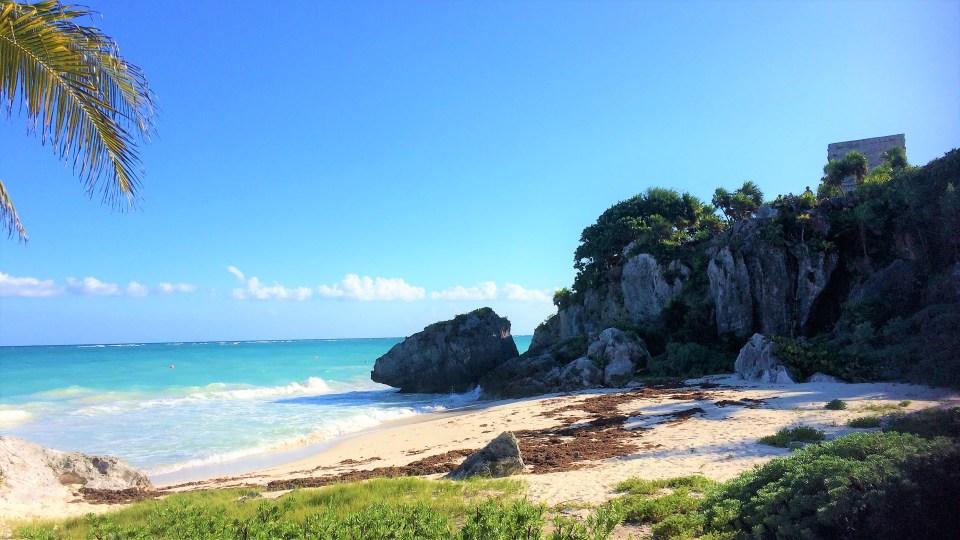 tulum ruin beach