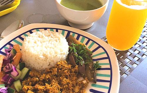 vegan food cartagena