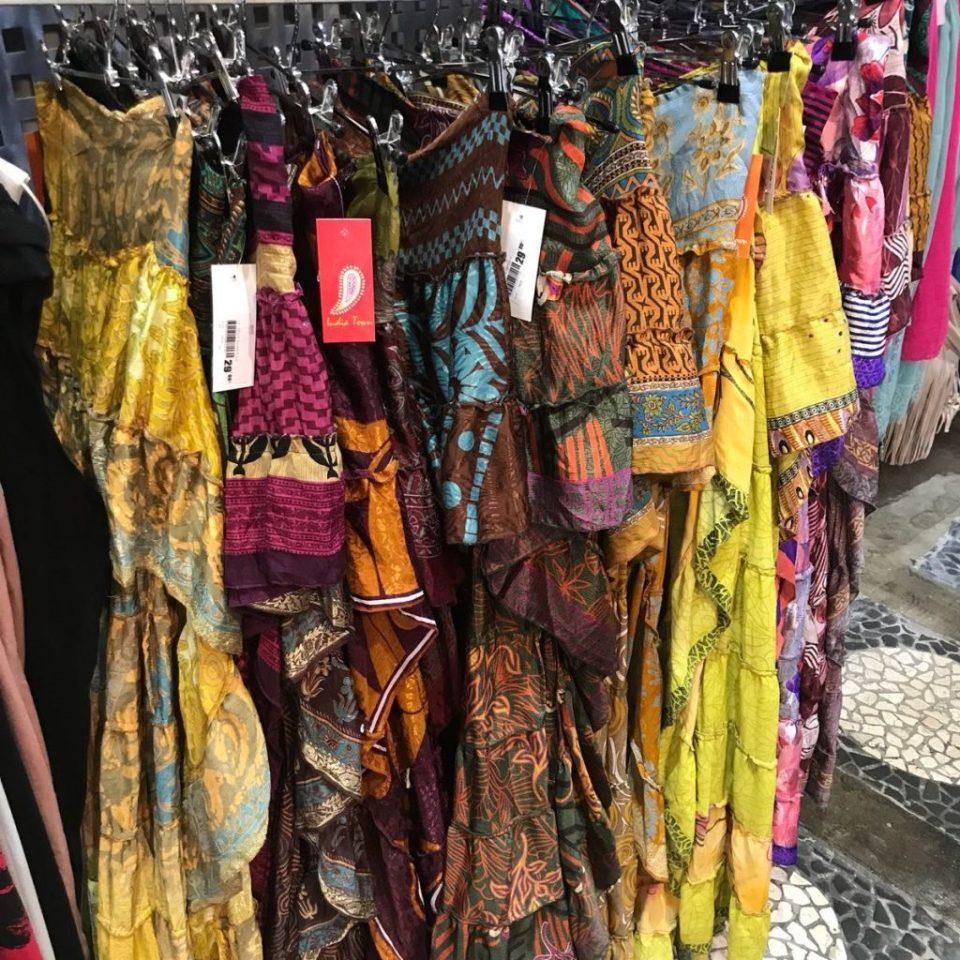 boho skirts ibiza