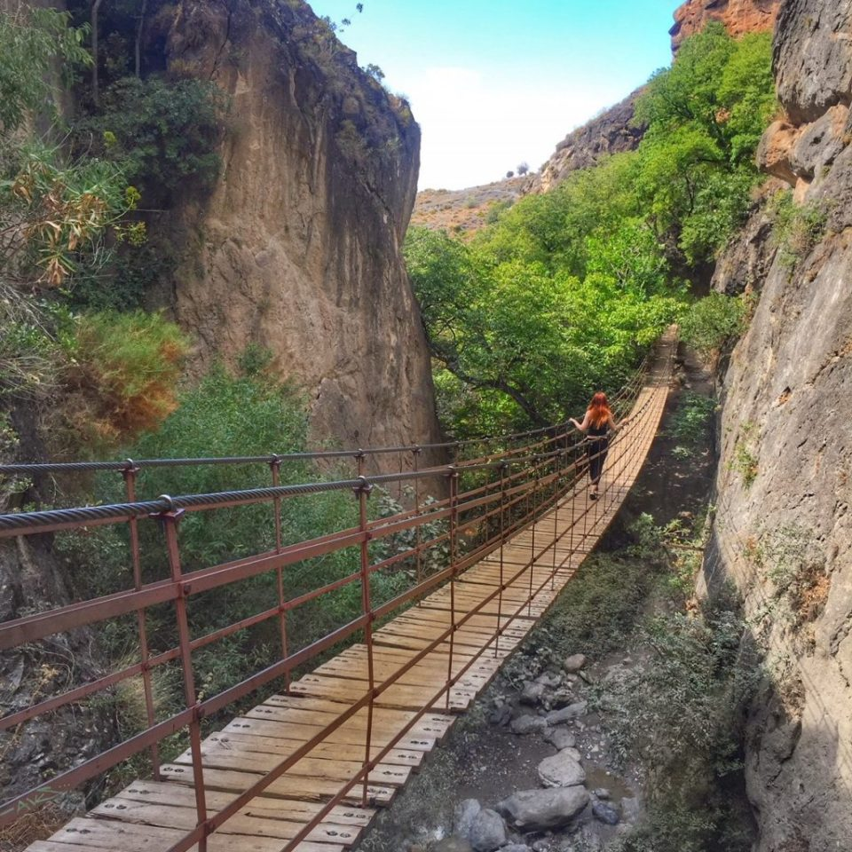 hanging bridge Monachil