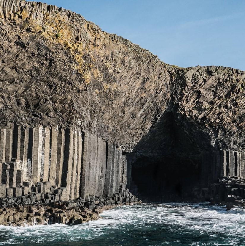 fingals cave scotand