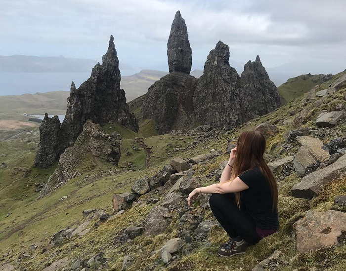 old man of storr view