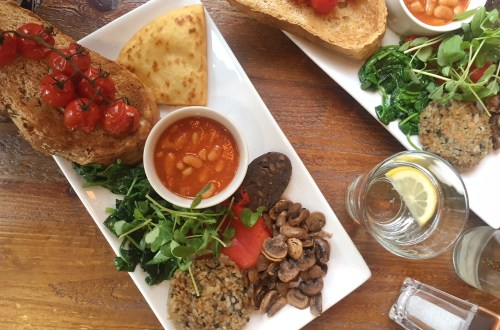 vegan breakfast Edinburgh