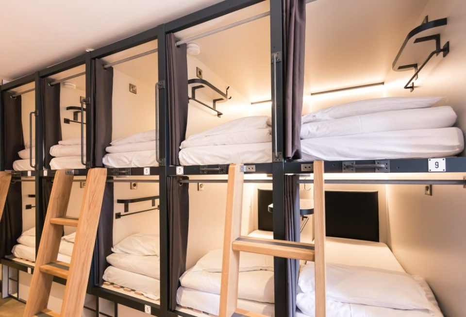 CODE dorm rooms