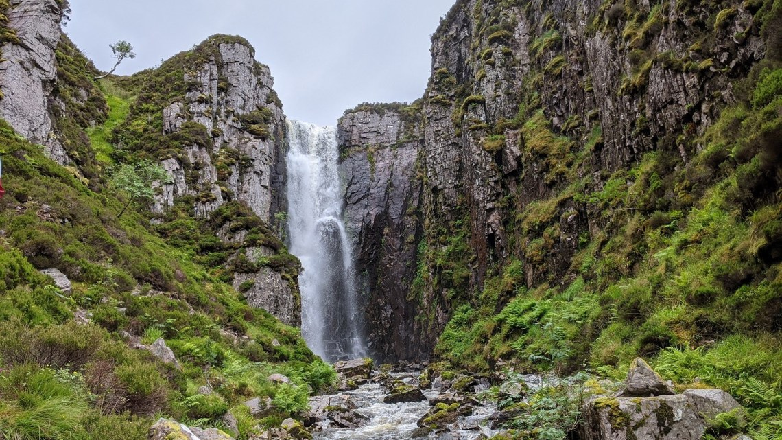 wailing widow falls scotland