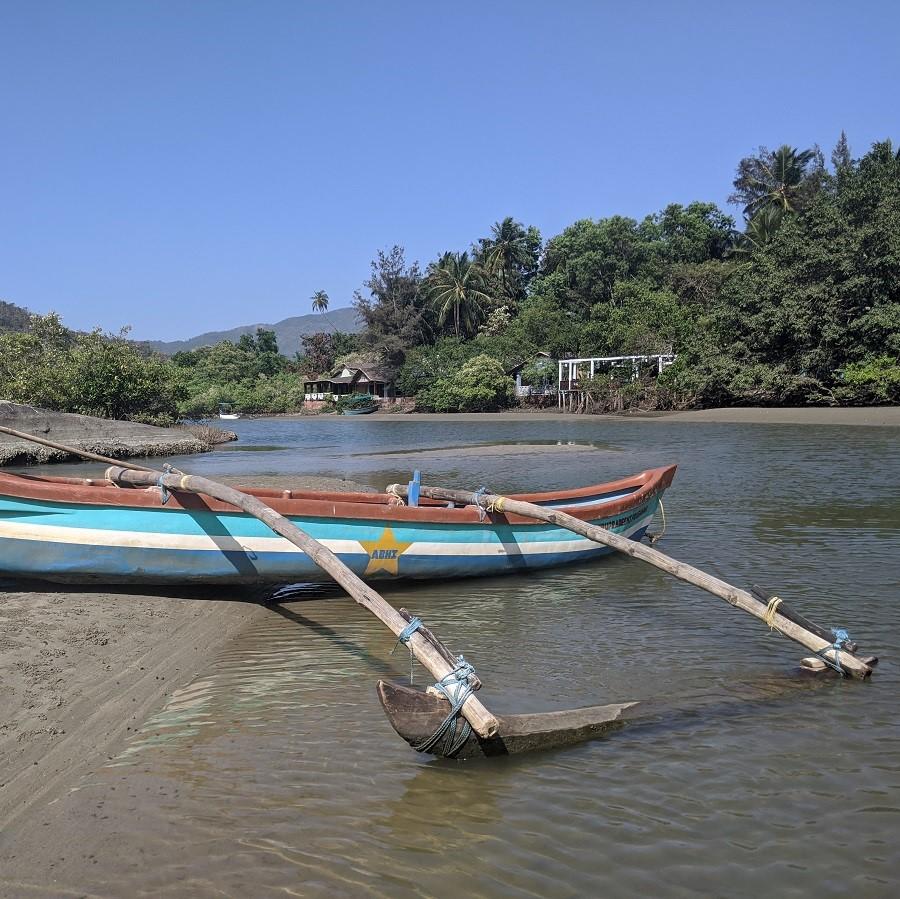 boat trip palolem butterfly beach