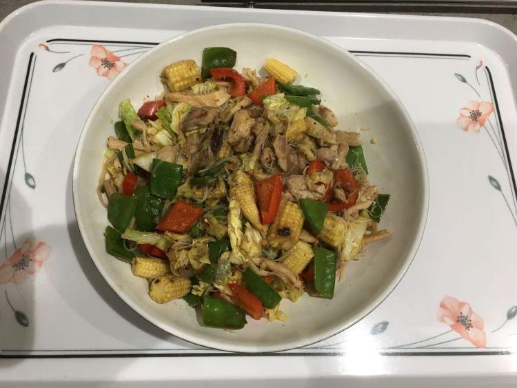 Chicken Stir Fry with Szechuan Pepper