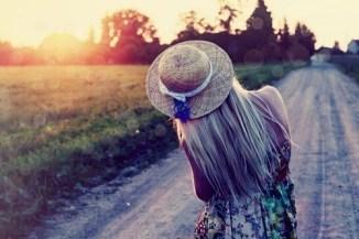 blonde-girl-hat-nature-road-favim-com-103177