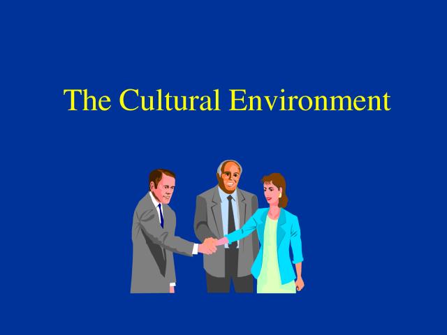 cultural-environment