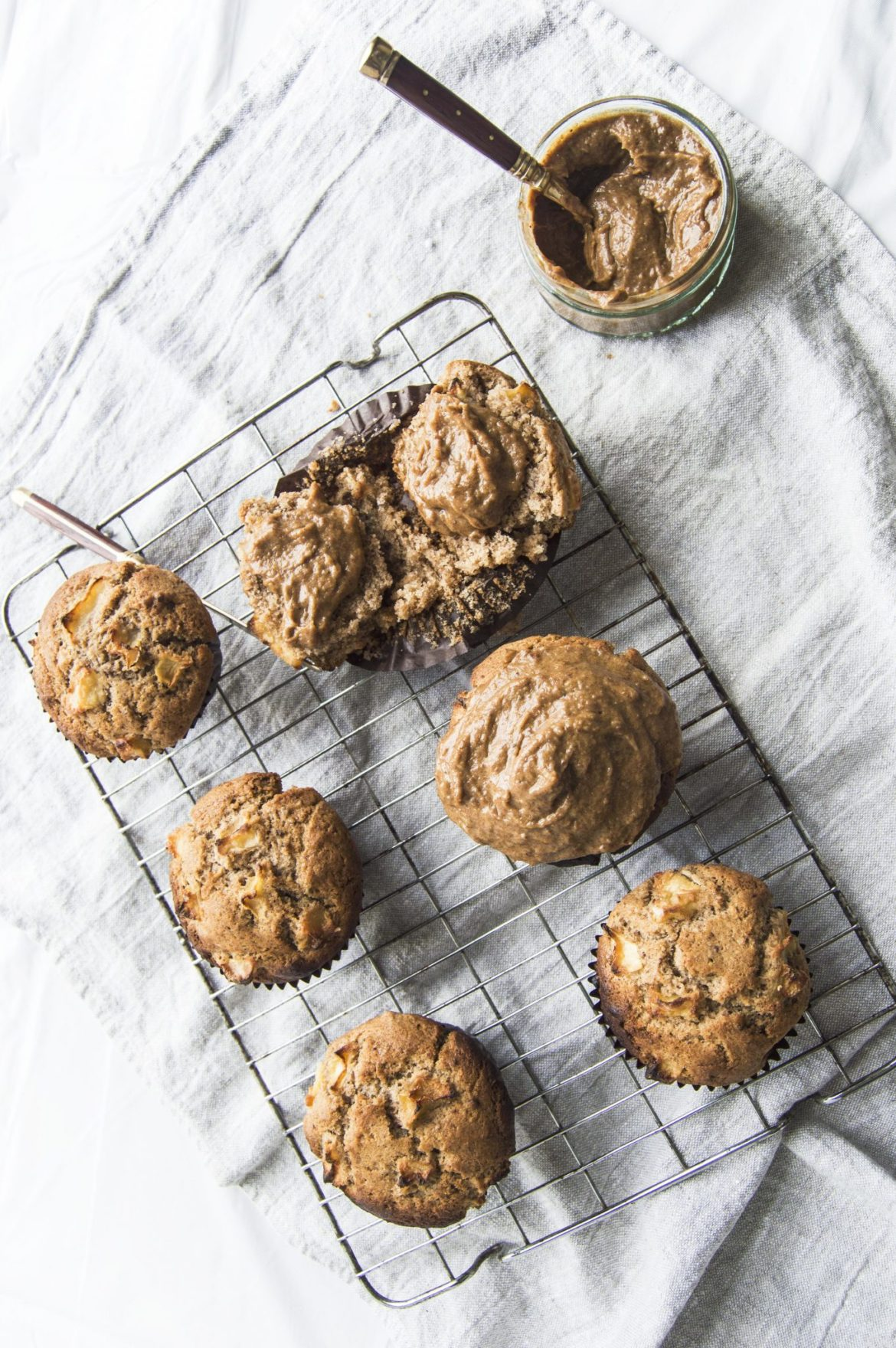 Vegan Toffee Apple Breakfast Muffins