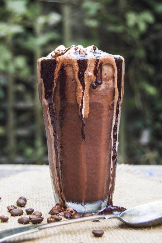 Vegan Mexican Iced Mocha
