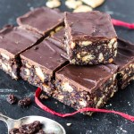 Vegan Tiffins AKA Chocolate Biscuit Fridge Cake