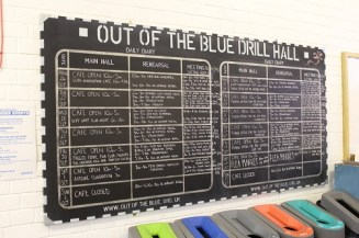 Out of the Blue Drill Hall