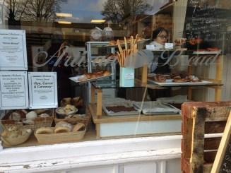 Artisan bread at Andante, Morningside