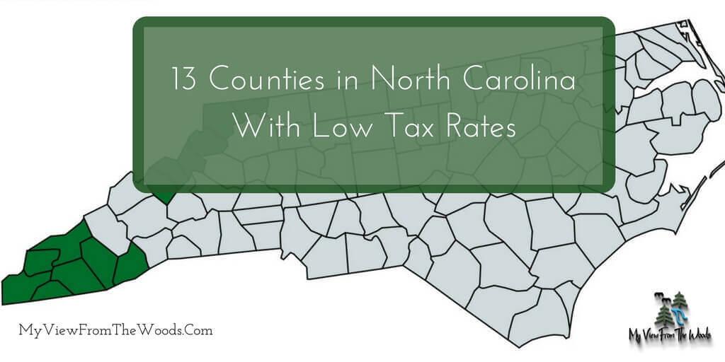 north carolina counties