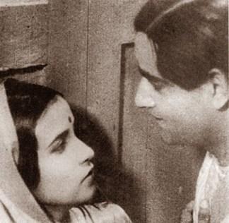Devdas_(1935)_Cast_Scene