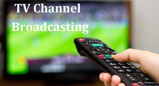 TV-channel-broadcasting